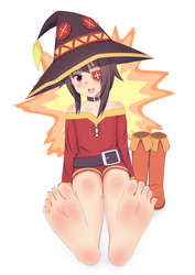 Let's Practice Explosion Magic!~ - barefoot by Lululewd