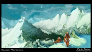 Hauvesch Mountaineers by Beastysakura