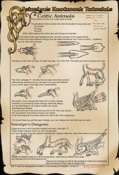 Celtic Knot Animals (Basics III) by Feivelyn