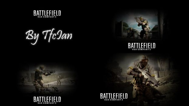 BF:BC2 Wallpaper Pack by tfcian