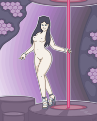 Re-L Pole Dancing by Caluctor
