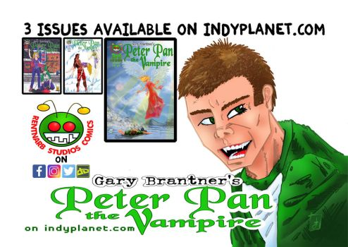 Peter Pan The Vampire Half Page Horizontal Ad by rentnarb