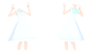 MMD TDA Sailor Dress (Thanks for 110+) (DL) by kiraAnima