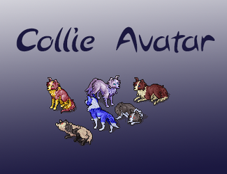 Pay-to-use Collie avatar by Daskdragon