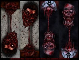 Sinister Grin Bookmarks by AustenMengler