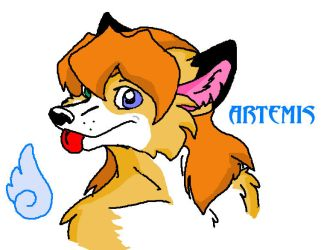 Artemis in Paint by Foxy-page