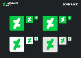 New DeviantART Icon Pack by UJz