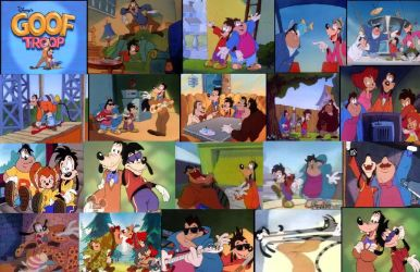 Goof Troop Collage by colodgeartist