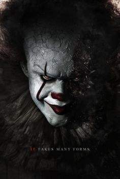 Stephen King's It (2017) - Pennywise Poster by CAMW1N