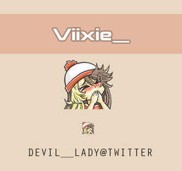 Emote Viixie_ by devilladyart