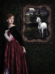 The Unicorn Painting by voorikvergeet