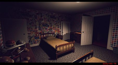 Amityville '76 -Game Dev by metonymic