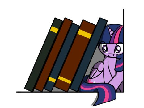 Too Many Books? by FlutterLuv