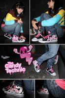 Candy technic Chucks by Bobsmade
