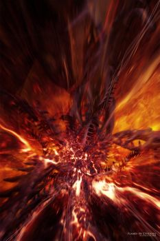 Flames of Cthugha by zilla774