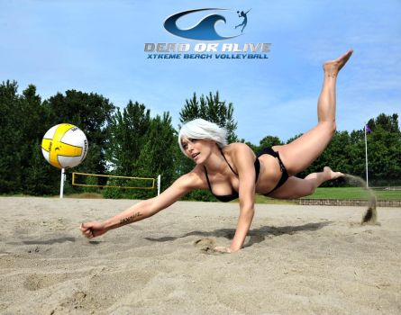 Christie  Xtreme Beach Volleyball by MissSinisterCosplay