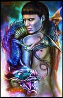 Salander by Art-by-Jilani