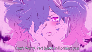 Peri Yandere Face by Lithety