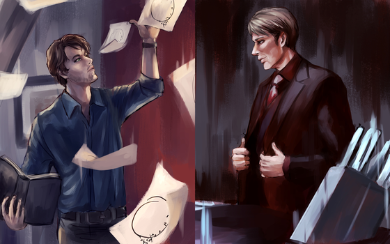 Will and Hannibal by revolver277