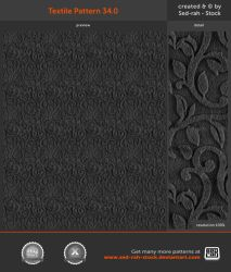 Textile Pattern 34.0 by Sed-rah-Stock