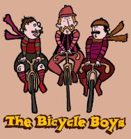 The Bicycle Boys by JBinks