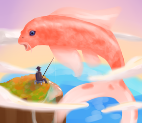 Fishing by PineMelons