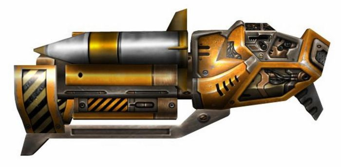 XPML4000 Rocket Launcher by Seargent-Demolisher