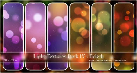Light Textures Pack IV - Bokeh by MagnifiqueN