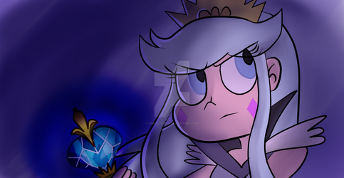 Moon the Undaunted by annie-tower