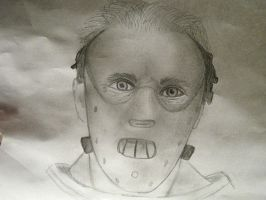 Hannibal Lecter by samoyed16