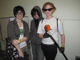 Oz Con 2012- Jake, Karkat and Dirk by Asp3ll