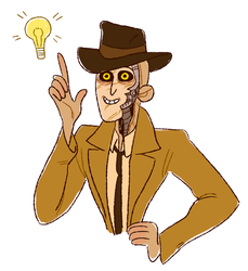 Nick Valentine by Rosslaye