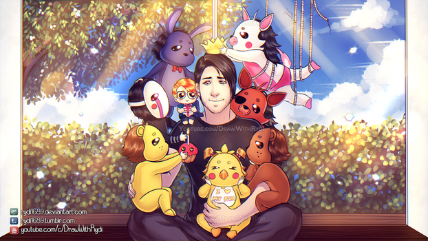 I WILL ALWAYS REMEMBER THIS - Markiplier + FNAF by rydi1689