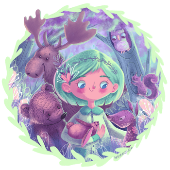 Forest Friends Finish by greenmaggot