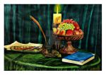 still life painting by mohit kumar rao by mohitkumarrao