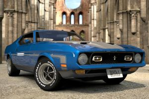 ford mustang mach 1 3 by JoshuaCordova