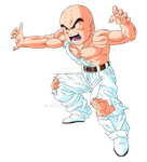Krillin - Dragonball Z (Garlic Jr. Saga)[V.3] by Krillin888