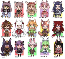 [OPEN] Mini chibi ADOPTS #6 - AUTOBUY ADDED by GazeRei