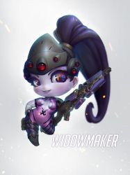 Widowmaker Chibi by eloel
