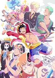 ONE PIECE! by ABD-illustrates
