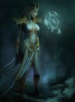 the sorceress by AF-studios