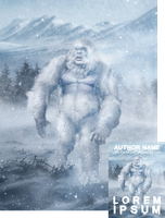 Abominable Snowman Premade Book Cover by Viergacht