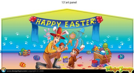 Easter Art Panel by designfxpro