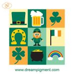 St Patricks Day Icons 2018 by DreamPigment