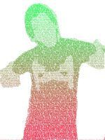 Markiplier Text Portrait 3 by ThisIsGR