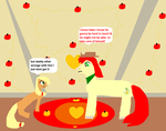 Scene 9 Little Apple Jack Is Mad  with her dad by biancaroseg