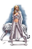 EMMA FROST (color version) by DAVID-OCAMPO