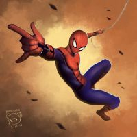 Spider-Man by tuves