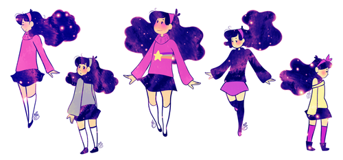 Space Mabel by rosemaryleaves