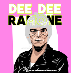 Dee Dee Ramone - Pink by indesition